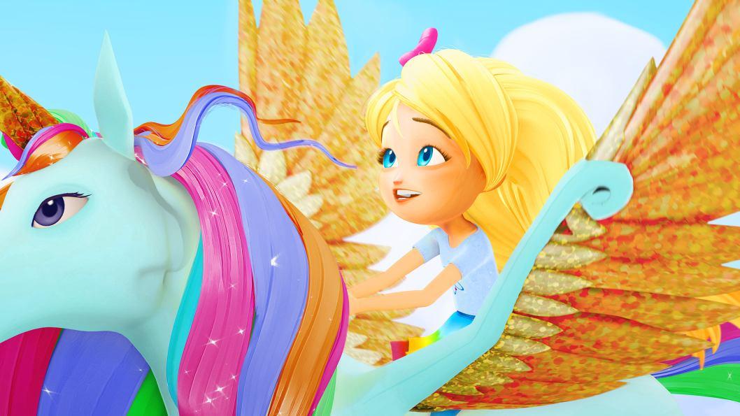 Little Princess Girl Wallpaper Barbie Dreamtopia Family Ca