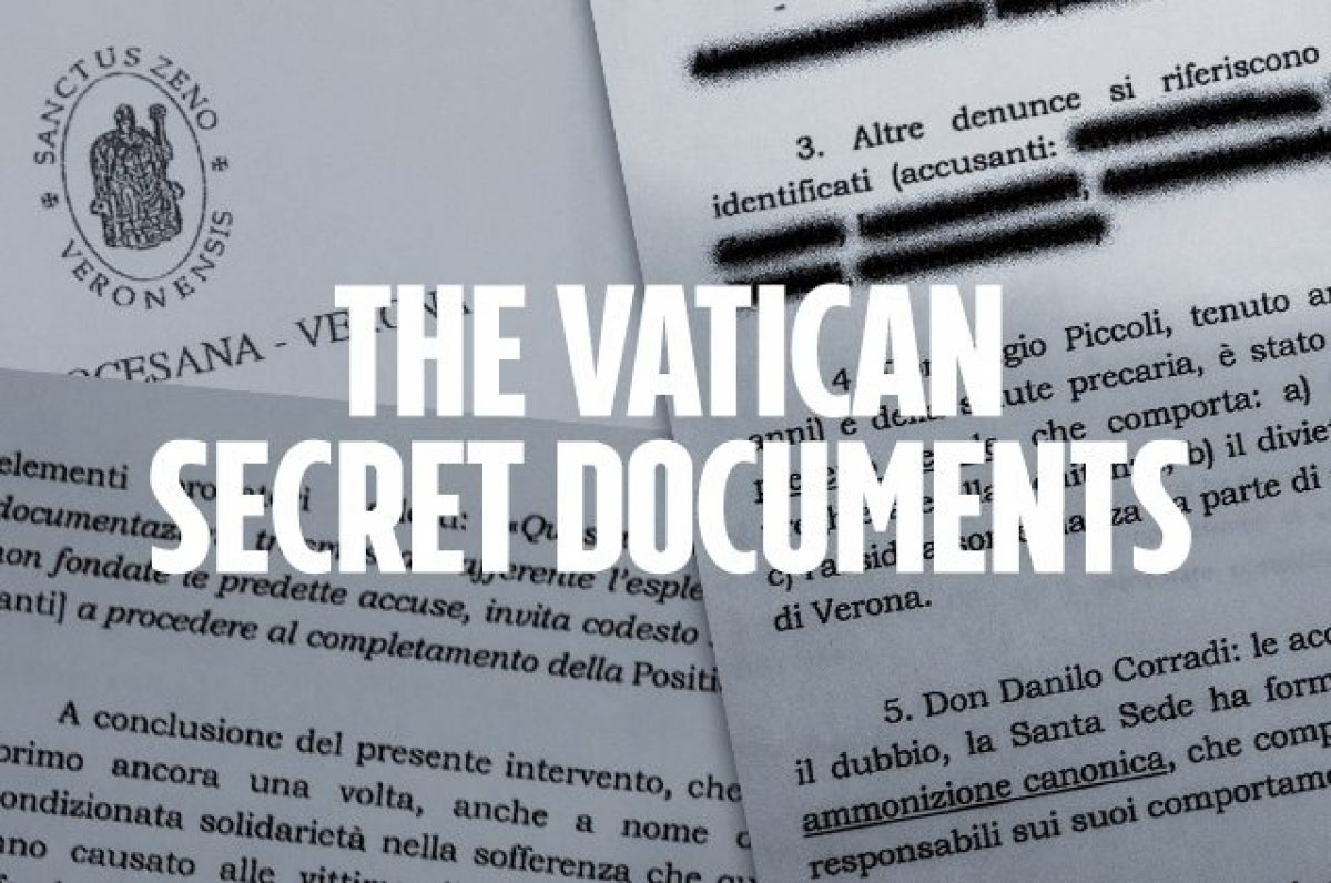 Cucina Italiana Fanpage The Documents Kept Secret By The Vatican Regarding The Sexual