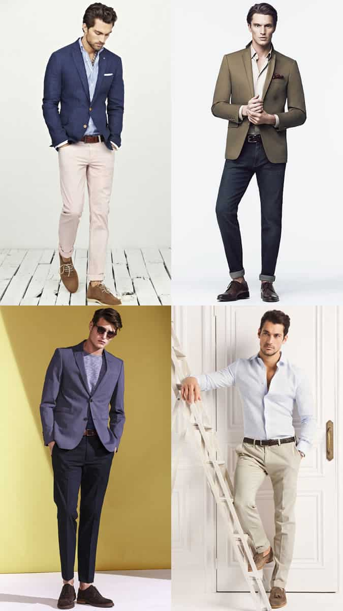 Men s smart casual dress code outfit inspiration lookbook