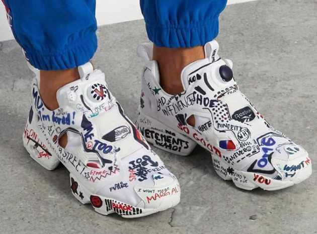 Reebok x Atmos Instapump Fury Sneakers