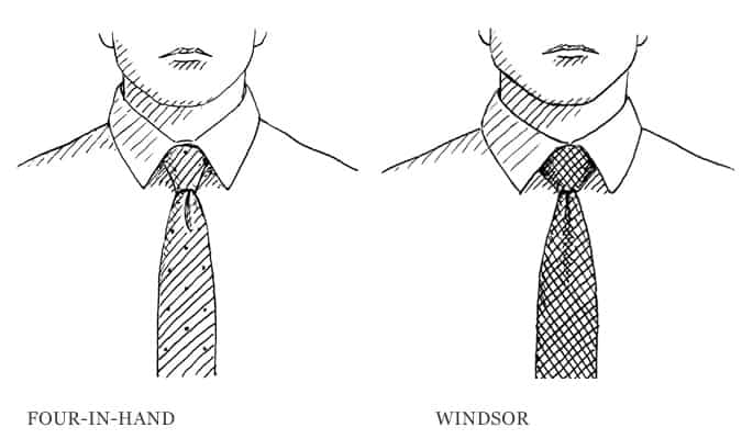 how to tie a double windsor pictures 4