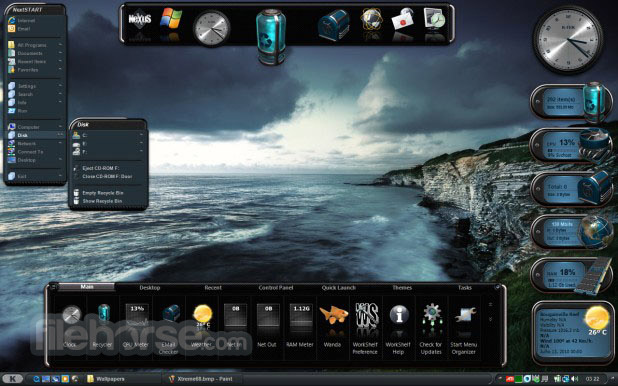 3d Live Animated Wallpaper Download For Windows 7 Winstep Nexus Dock 18 10 Download For Windows Filehorse Com