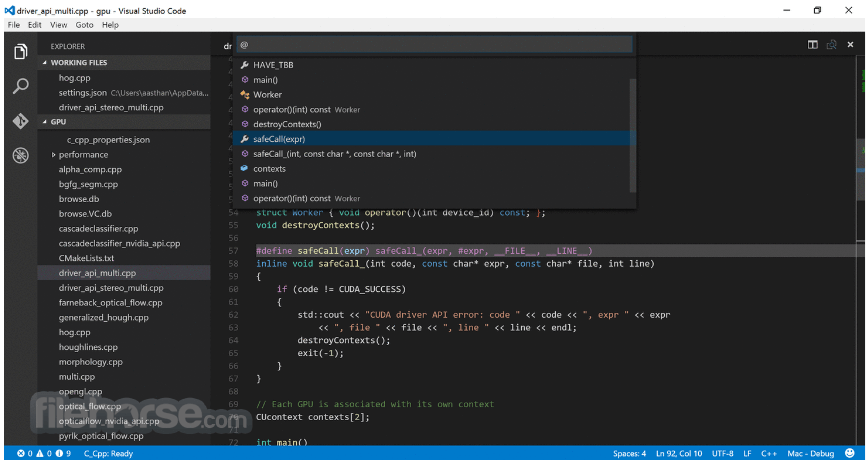 Console Extensible Visual Studio Code 1.28.2 Download For Windows / Filehorse.com