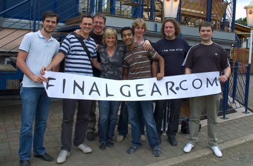 FinalGear.com Forum Members With Sabine Schmitz