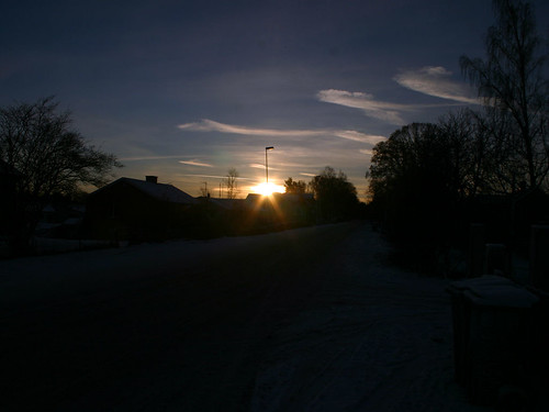 Sunrise on the Winter Solstice