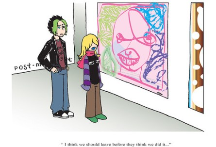 postmodern sanat