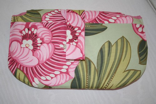 Amy Butler clutch, back