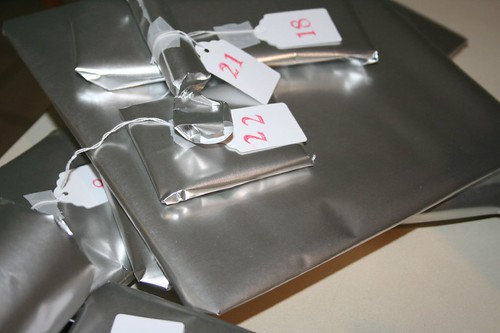 advent gifts, numbered