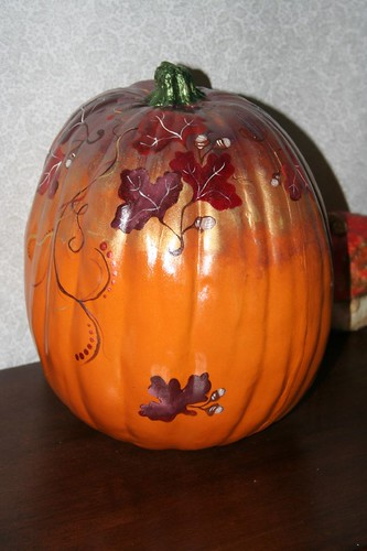 pretty pumpkin from Catrina