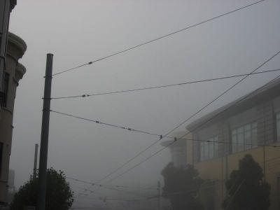 A Foggy Morning in San Francisco