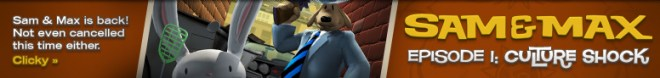 Sam & Max: Episode 1: Culture Shock Banner