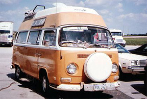 Waldmire's VW minibus