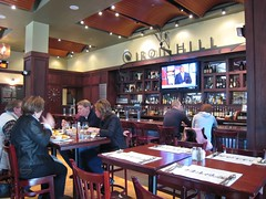 Iron Hill brewery bar