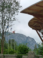 Visitor Center in Squamish, B.C.
