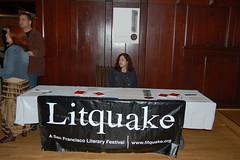 Litquake table