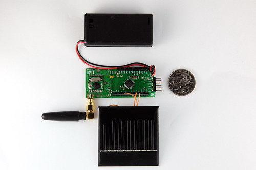 Solar Powered Widget board