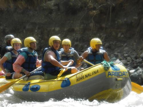 Rafting Ecuador, Mira river