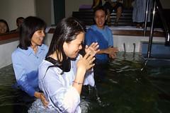 Christine Baptized