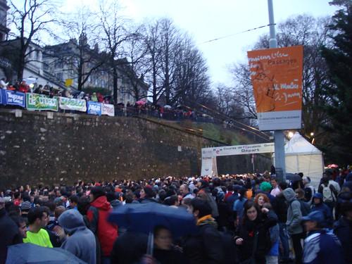 Geneva Escalade Start Line