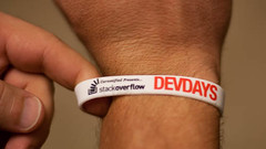 Stackoverflow Devdays Austin Wrist Band