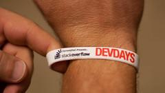 Stackoverflow Devdays Austin Wrist Band