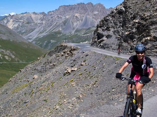 Almost! Near top of Col du Galibier