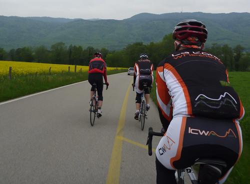 Cycling with La Cote Wheelers