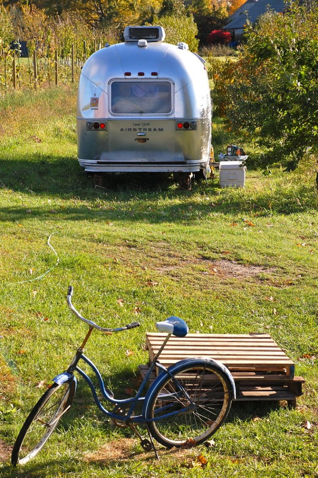 Random Airstream at Shelburne Orchard