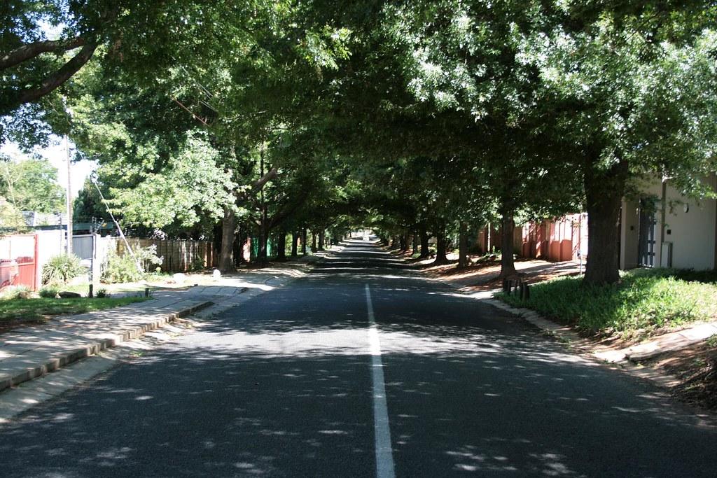 Johannesburg suburb streets