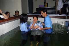 Patti Baptized