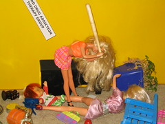 barbie takes care of myspace tech support