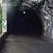 Dark, wet tunnel