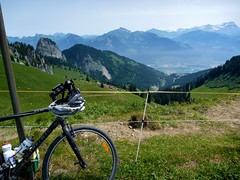 Bike In France, view Swiss