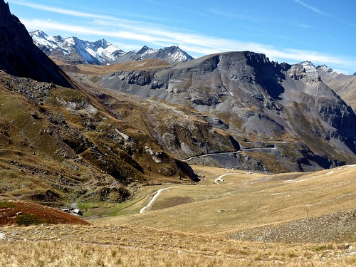 Galibier hairpins in distance