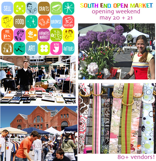 South End Open Market: Boston