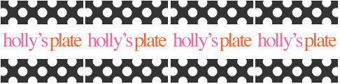 Blog of the Week: Holly's Plate