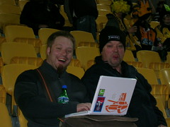 LOL Geeking out at the rugby