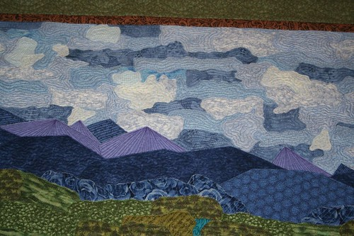 My mom's latest quilt