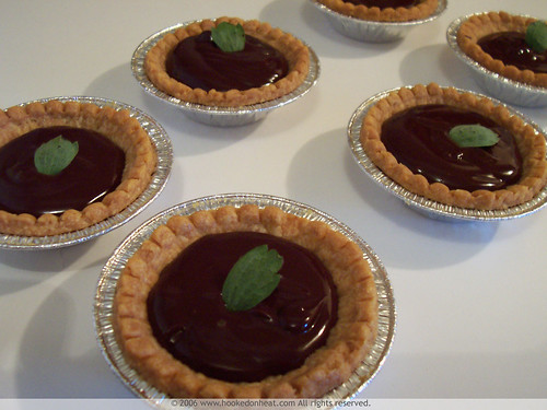 Mint Chocolate Tartlets