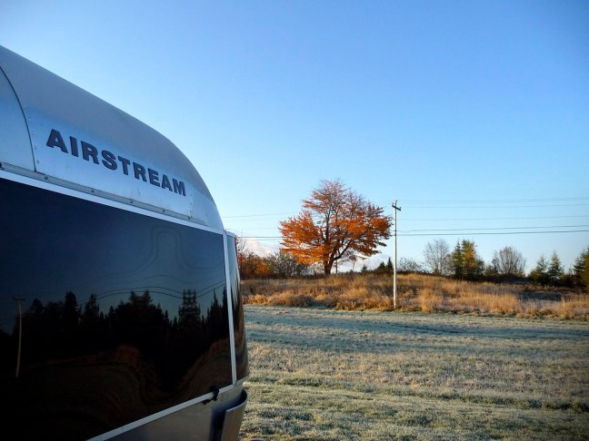 Frozen morning in Machias, Maine