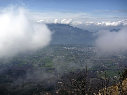 Views of Lac du Bourget and Mont du Chat