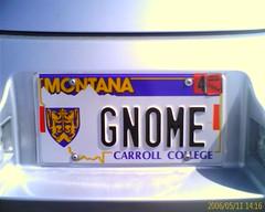 Gnome car