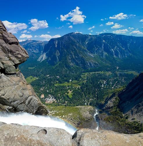 Overtop Yosemite Falls