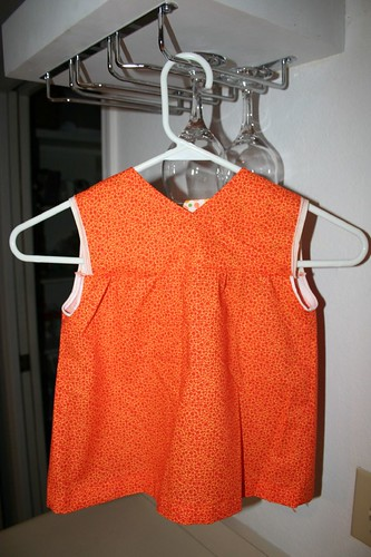 Baby's dress, front