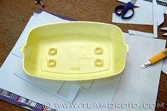 Styrofoam glider project