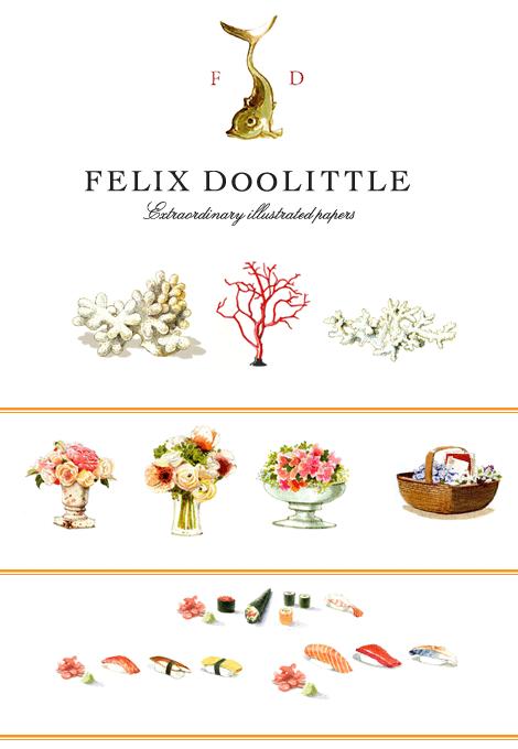 Felix Doolittle Stationery