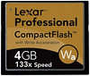 Lexar Professional Compact Flash 4GB 133x with Write Acceleration