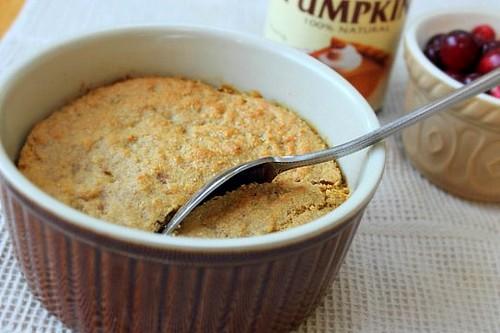Pumpkin Bean Cornbread Casserole (6)