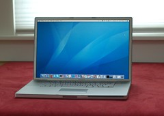 The 17-inch Apple PowerBook G4