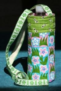 Water Bottle Carrier Tutorial | ilovefabric blog